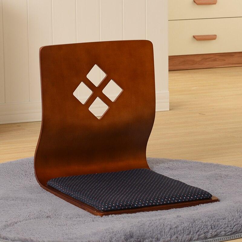 (2 pcs/lot) TATA Japonais Coréen Sièges Zaisu Chaise Salon De Meubles Asiatiques Traditionnelles Tatami Étage Sans Jambes Chaise Siège