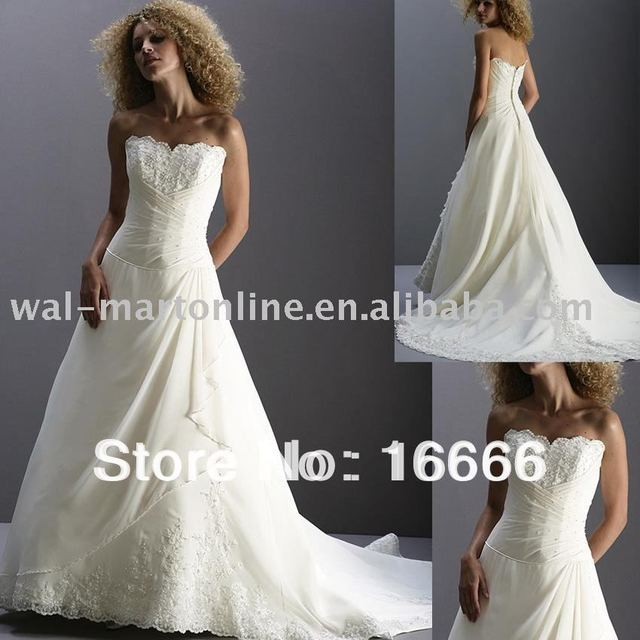 af1d3ba4d5bf0 Designer Beaded Wedding Dress Chiffon and Lace Ruched Jewelry Off Shoulder  Bridal Gowns A Line ML030