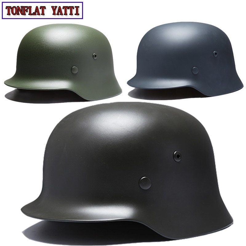 2018 NPM Military Tactical Bulletproof Pure Helmet NIJ I German Style Live CS Airsoft Paintball Police