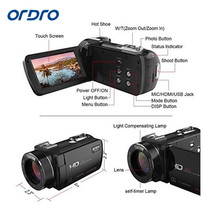 Ordro Z20 1080P Digital Video Camcorder Full HD 16x digital Zoom DV