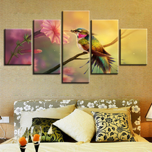 5pcs DIY Diamond Painting Flower And Bird Full Square Embroidery Mosaic Picture Of Rhinestone H337
