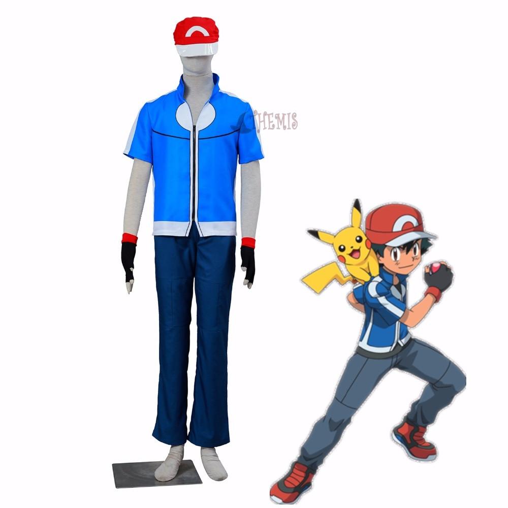 Athemis Pokemon Ash Ketchum cosplay Ash Ketchum cosplay costume OLM TEAM OTA XY 5 style
