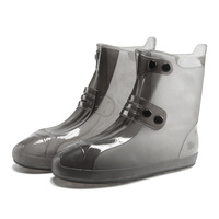 2018 New Fashion Waterproof Shoes Cover Rubber Boots Overshoes Rain Boots Men Women Children Good Cheap Platform Shoes Cover
