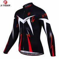 X-TIGER 2020 Herbst Pro Radfahren Trikots Langarm MTB Fahrrad Radfahren Kleidung Sportswear Herren Bike Radfahren Kleidung