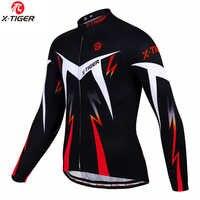 X-TIGER 2020 outono pro ciclismo jerseys de manga longa mtb bicicleta ciclismo roupas esportivas dos homens ciclismo roupas