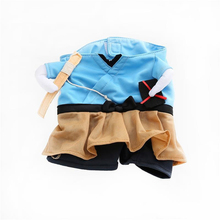 Funny Cat Clothes Pirate Suit Clothes For Cat Costume Clothing Corsair Halloween Clothes Dressing Up Cat Party Costume Suit A026