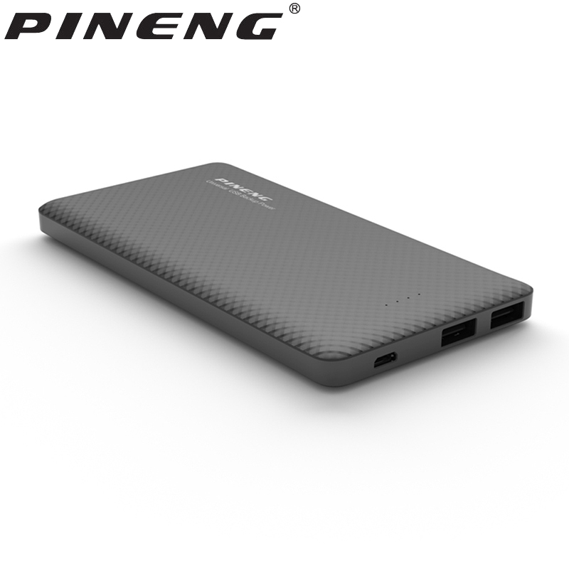 Pineng Power Bank 10000mAh External Battery Portable Mobile Fast Charger Dual USB for iPhone 5 6s