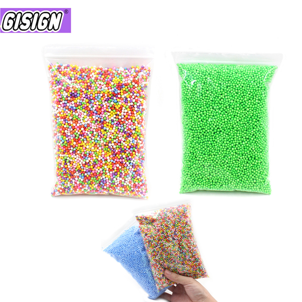 Clay Mini Foam Balls Filler For Slime Beads Colorful Charms  Addition Mud Particles Slime Accessories Antistress Toys Supplies