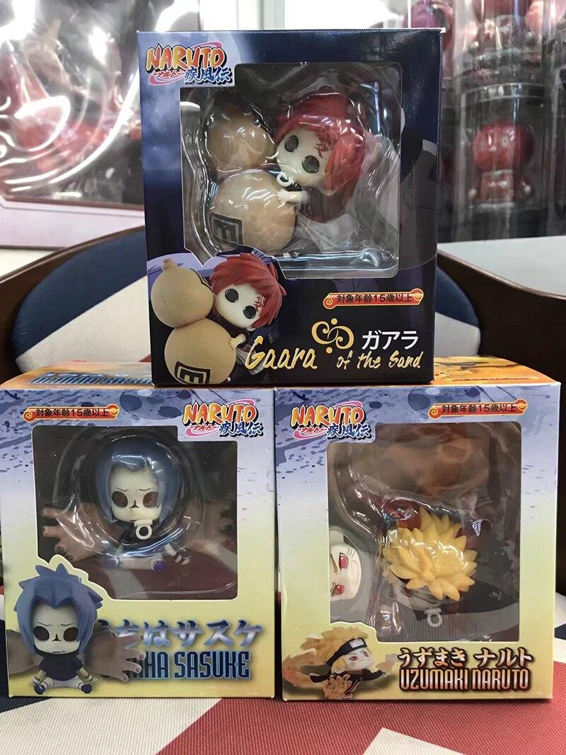 Figuras de Ação e Toy 8 cm mini anime naruto Fantoches : Modelo