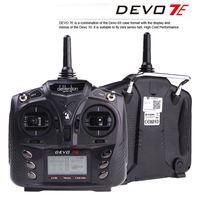 Walkera DEVO 7E 2 4G 7CH DSSS Radio Control Transmitter For RC Helicopter Airplane Model 2