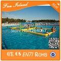 Бесплатная Доставка Надувной Водный Волейбол Для Семейного отдыха, ПВХ Брезентом Прочный Надувные Суда Волейбол Воды