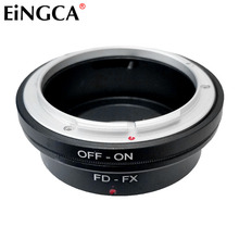 FD FX For Canon FD Lens to FX Mount Camera Lens Adapter for Fujifilm Fuji XT10 XT20 XT30 XT2 XT1 XE3 XE2 XA5 XA3 XA2 X PRO2