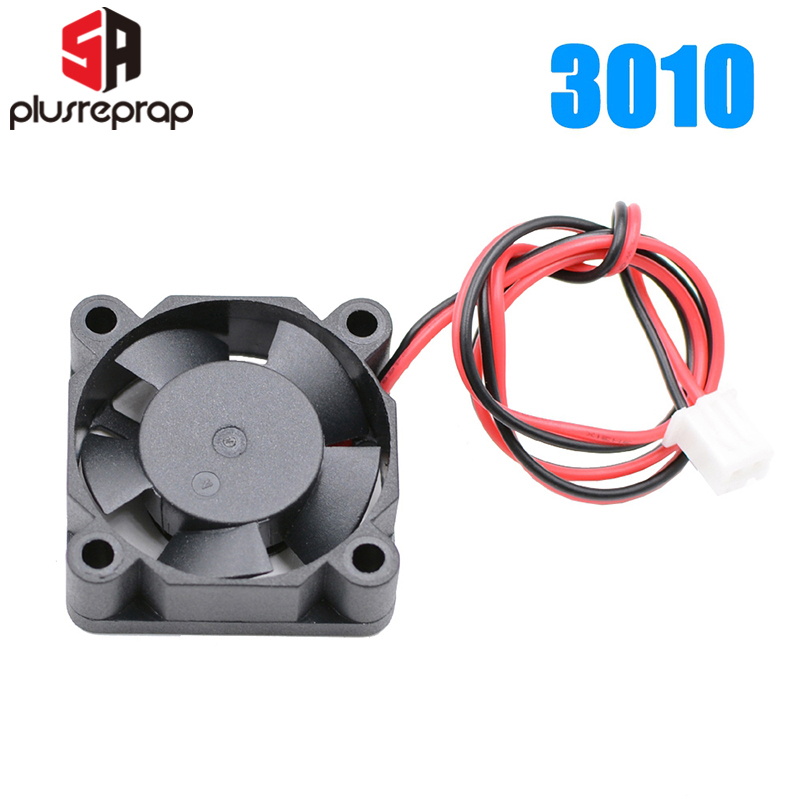 3010 бесщеточный вентилятор охлаждения 12 V 24 V радиатор вентилятор 30*30*10 мм 3010 H экструдера 2-Провода 3D-принтеры часть интимные аксессуары охлаж...