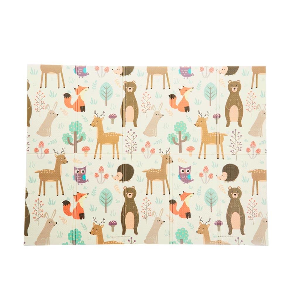 Tapis de jeu pour bébé Puzzle tapis de bébé mousse épaissi tapis de jeu salle ramper tapis pliant tapis de bébé tapis de sol antidérapant 150*200*1CM - 3