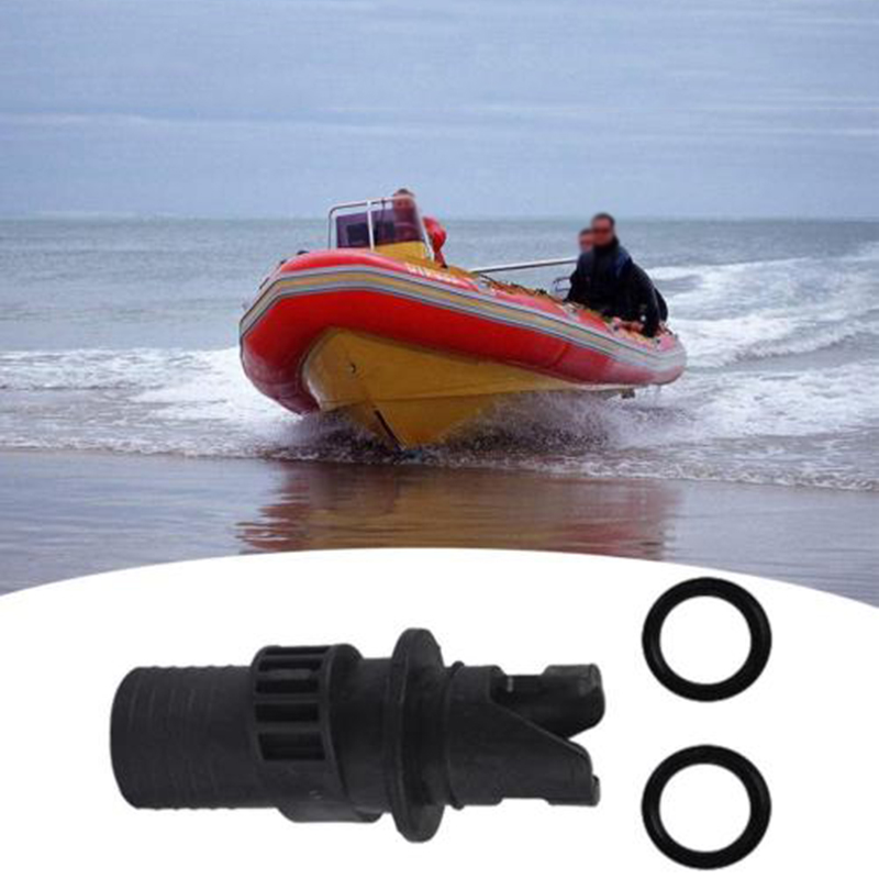 Hose Adapter Fishing Kayak Accessories Air Valve Caps Inflatable Boat Connector