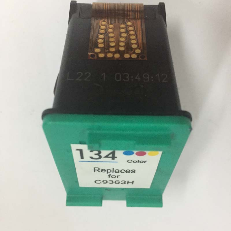 vilaxh 134 Compatible Ink Cartridge Replacement For HP 134 for Deskjet 5940 6940 5943 6943 6983 6843 7313 7413 8153 2713 Printer in Ink Cartridges from Computer Office