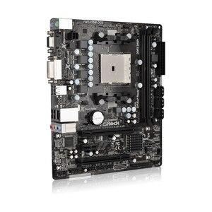 Image 2 - Bo Mạch Chủ Asrock Ban Đầu FM2A55M DGS Để Bàn Bo Mạch Chủ A55/A65/A75 Ổ Cắm FM2 Hỗ Trợ DDR3 32GB/AMD A4/A6/A8 CPU