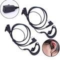 2 unids auricular headset micrófono ptt para motorola 2-pin cb radio cp88 cp040 cp100