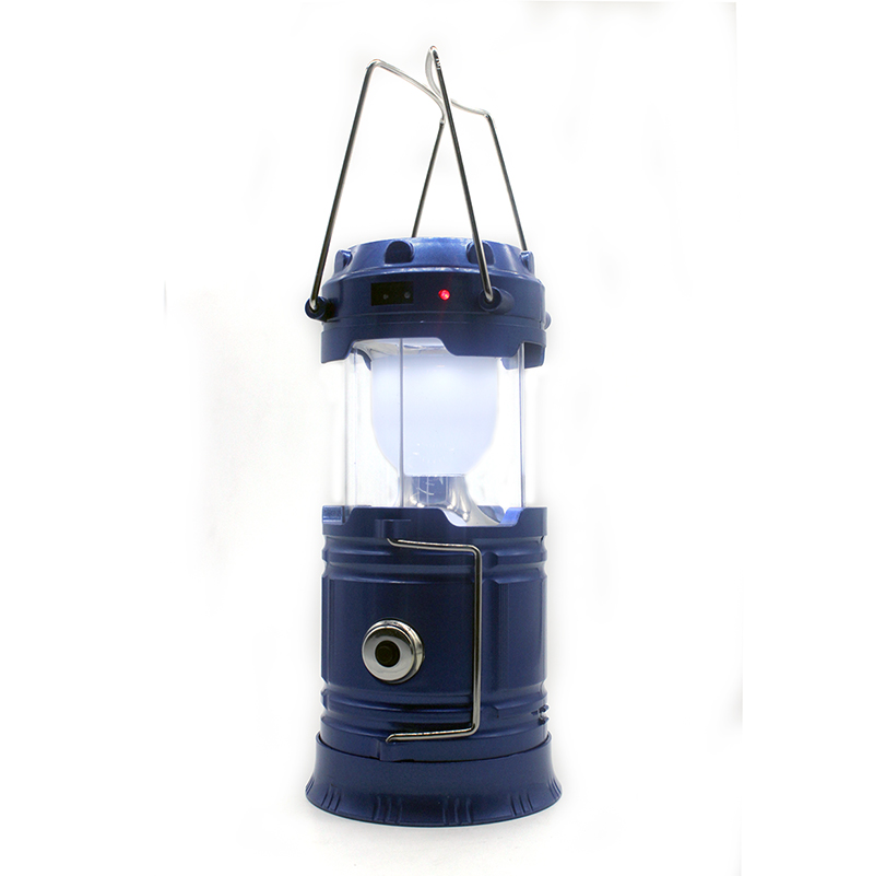 Factory direct Solar Charging Lights rechargeable USB Power Bank waterproof outdoor camping Lantern handlamp portable light