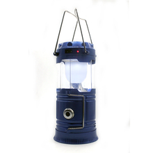 Factory direct Solar Charging Lights rechargeable USB Power Bank waterproof outdoor camping Lantern handlamp portable light