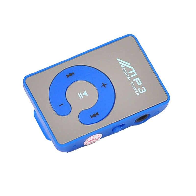 HIPERDEAL espejo Clip USB reproductor de MP3 Digital Mini reproductor multimedia de música soporte Micro 1-8GB SD TF tarjeta walderman letton D30 j11