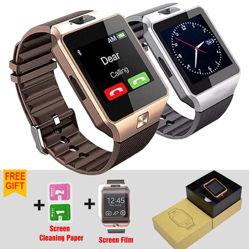 Benovel Smart Watch Wearable Devices DZ09 Electronics Wrist Phone Watch Support