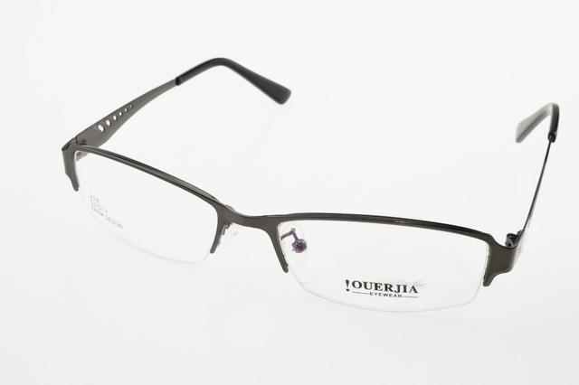 e15d7edc10 Hollow Gray Ultra light Eye Frame Titanium Alloy Custom Made Optical Myopia  Reading Glasses Photochromic Progressive