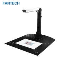 Portable Folding Highspeed Camera 5 Million Pixels Automatic A4 Document Scanner CMOS Video Recorder Certificate Scanner