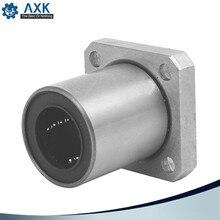 Hot sale 1pc LMK20UU 20mm flange linear bearing CNC Flange Linear Bush