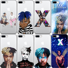 Newest Fashion xxxtentacion Hip Hop Rapper Soft silicone TPU Phone Case Cover For iPhone X 5 5S SE 6 XR XS MAX 7  8 8Plus