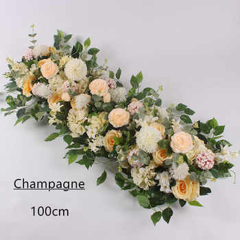 Angela flower Artificial & Dried Flowers Champagne