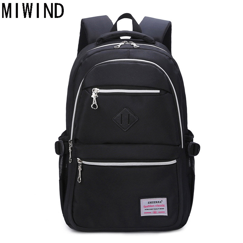 MIWIND Men Backpack Youth Fashion Teenage Backpacks For Teen Boys School Back Pack Male Travel Bags Mochila Masculina BoyTFZ1061 men backpack student school bag for teenager boys large capacity trip backpacks laptop backpack for 15 inches mochila masculina