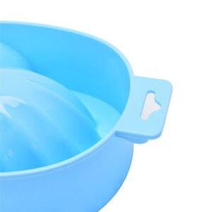 Image 5 - 1 PC Nail Art main lavage dissolvant tremper en plastique bol ongles bain manucure outil de haute qualité