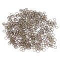 200pcs/bag wholesale bronze/white/silver/gold Tone split Rings 5mm jewelry making Findings