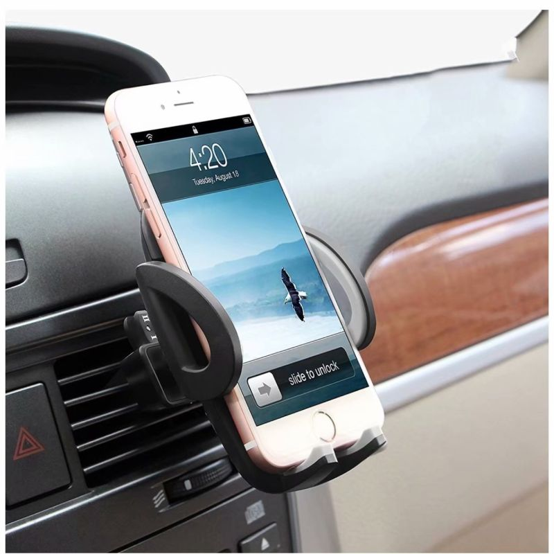 quality design 8ac5f 3511b US $6.93 43% OFF|Car Phone Holder Air Vent Mount Universal For Iphone 7 8  Plus X GPS Rotatable Outlet Stand For Huawei P20 Lite Phones Support-in ...