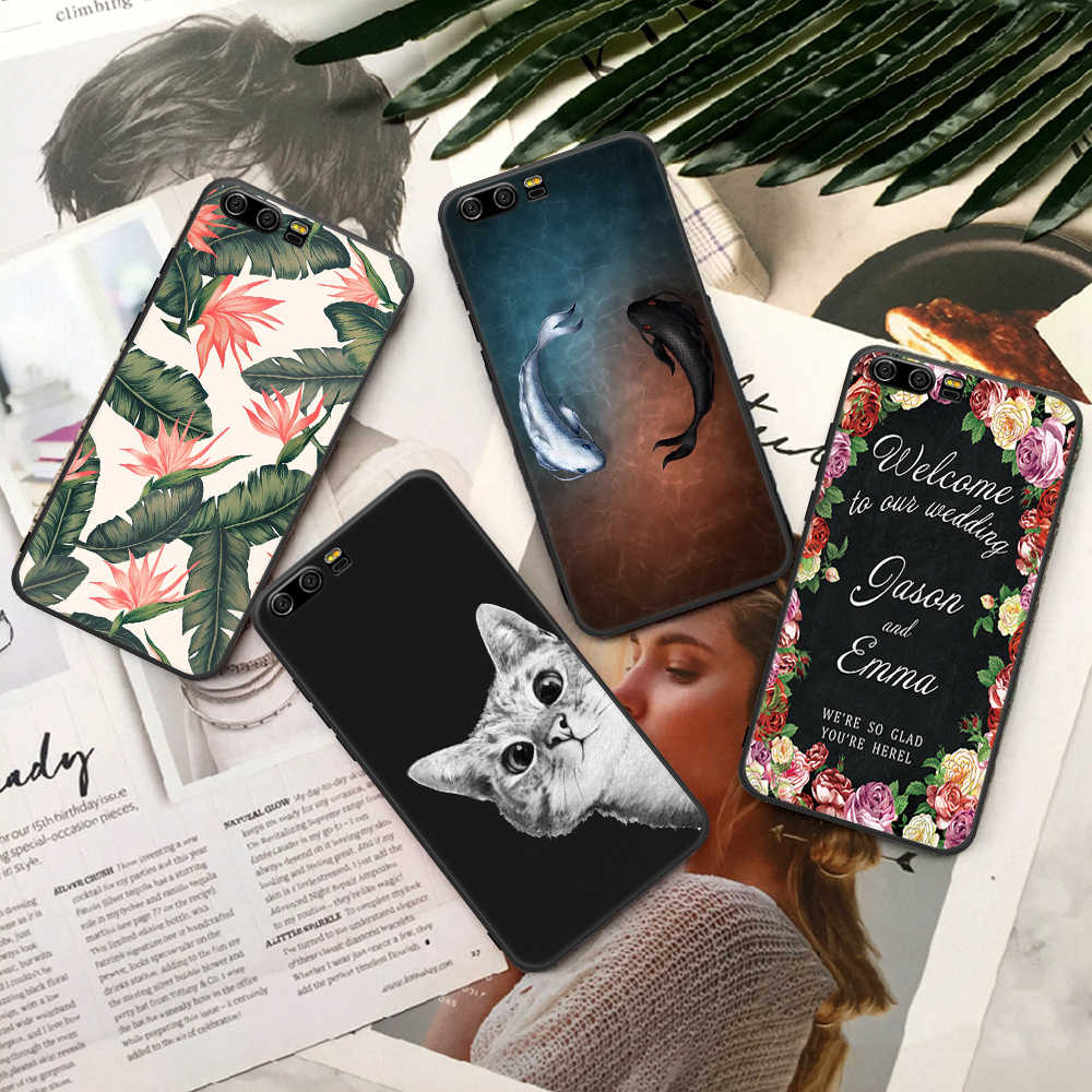 2019 New Pattern Cover For Huawei Honor 9 P10 P20 Mate 10 Lite 10 Pro 9i 8 P8 P9 Lite 2017 Soft TPU Phone Capa Coque Funda Shell