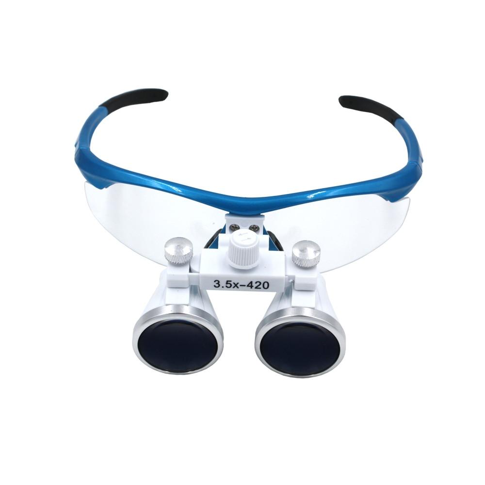 3.5x420mm Dental Loupes Surgical Binocular Loupe dental Magnifier Glasses