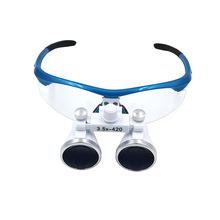 3.5x420mm Dental Loupes Surgical Binocular Loupe Magnifier Glasses