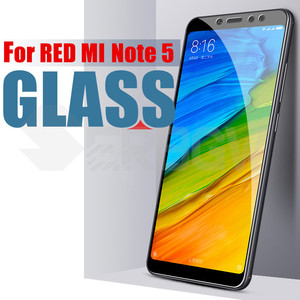 Image 3 - Full Cover Tempered Glass For Xiaomi Redmi Note 5 Global version 9H Screen Protector For Redmi Note5 Pro Protective Glass Film