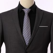Cravate Necktie 2019 New Solid Purple Neck Ties For Mens Wedding Tie 8 cm Width Gravata Neckties