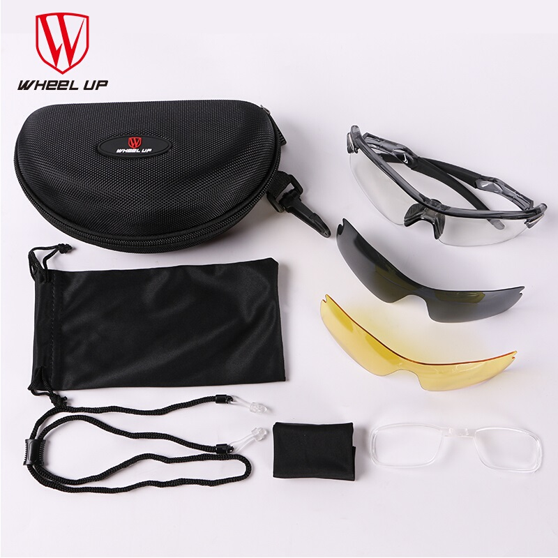 Wheelup Photochromic Cycling Glasses Polarized Sport Sunglasses Goggles Eyewear