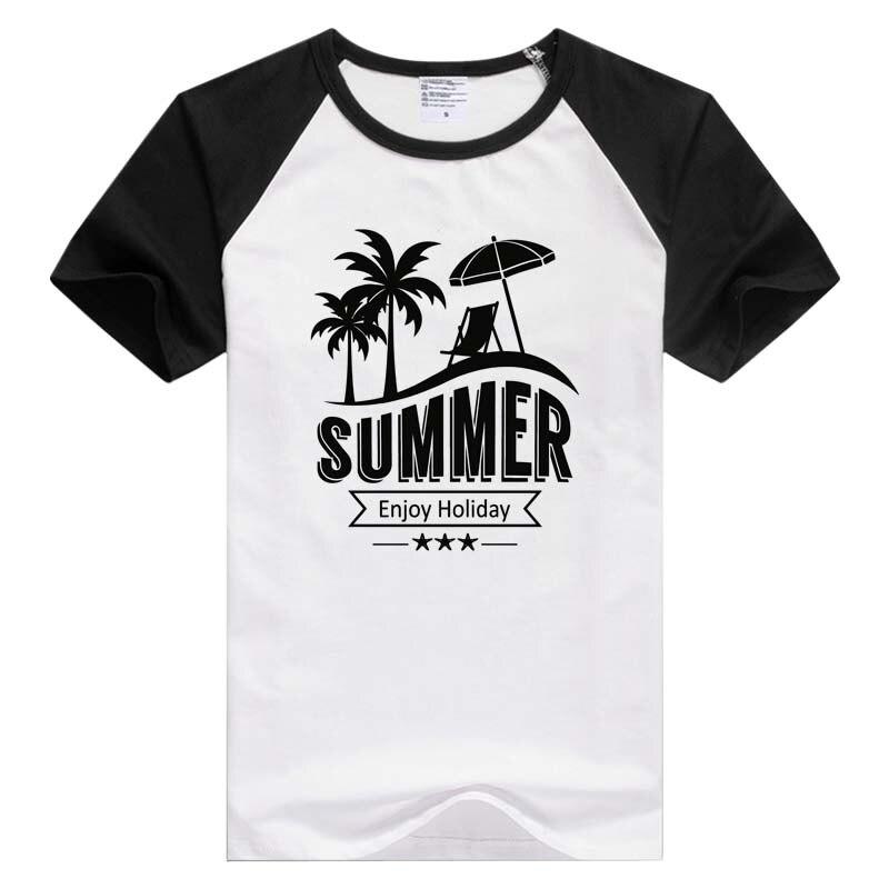 Summer Beach Tropical Island short sleeve casual Men Women T-shirt Comfortable Tshirt Cool Print Tops Fashion Tees GA890