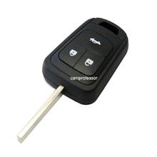 10 PCS*New Uncut Remote Key Remote Control Shell Case Fob 3 Buttons for Chevrolet Sonic Cruze Camaro Equinox Malibu Spark Volt