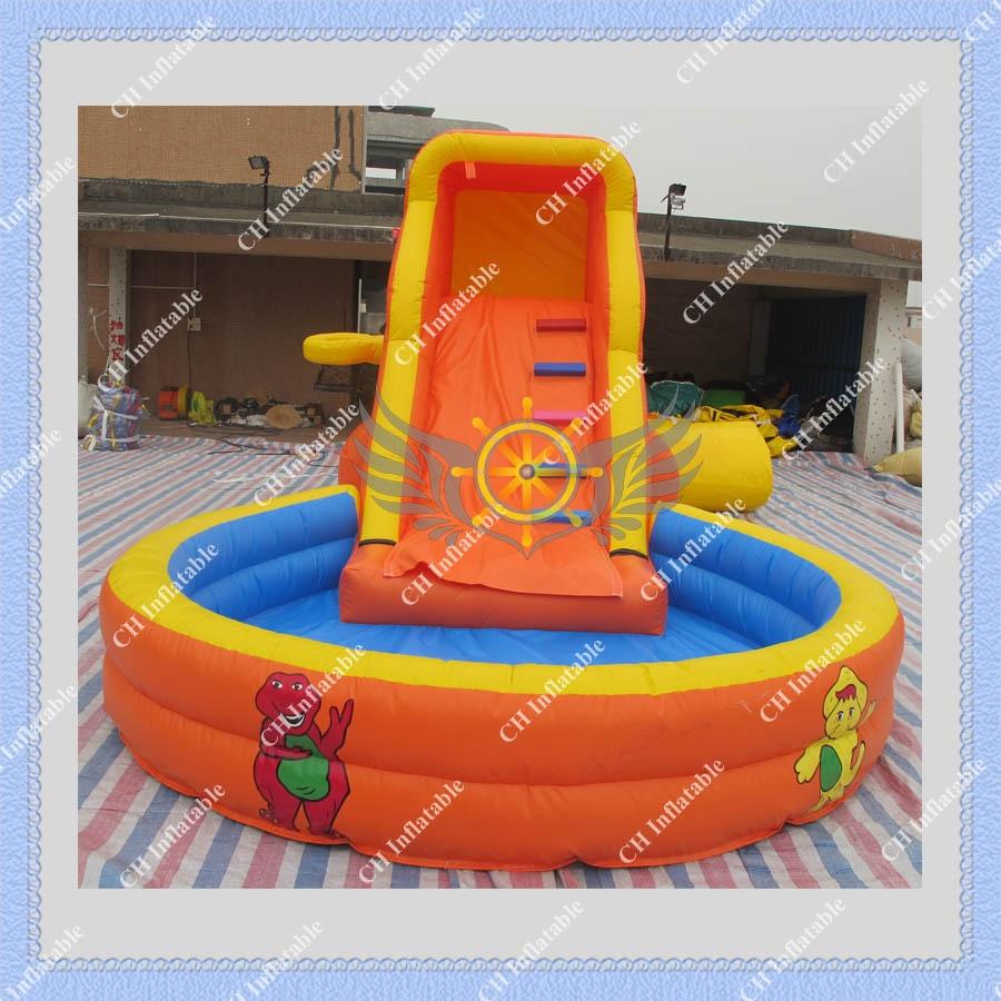 Piscine avec toboggan gonflable infos sur piscine avec for Piscine gonflable