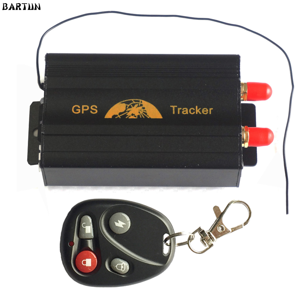 TK103B Vehicle GPS tracker Remote Control Portoguese Manual Quad band SD card GPS 103 PC web