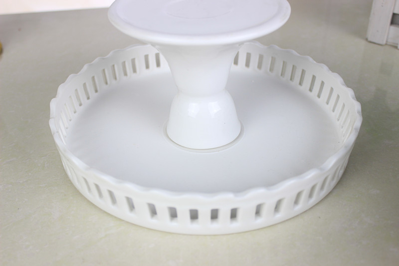 8 inch 10 inch 12 inch ceramic cake stand wedding white cake pan wedding cake plate cupcake decoration displayin stands from home u0026 garden on