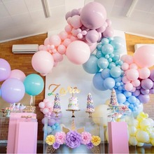 10PCS 5/10inch Macaron Balloon Colorful Latex Balloon Inflatable Toy For Home Wedding Party Decoration Birthday Party Supplie new colorful lighting inflatable jellyfish balloon for decoration