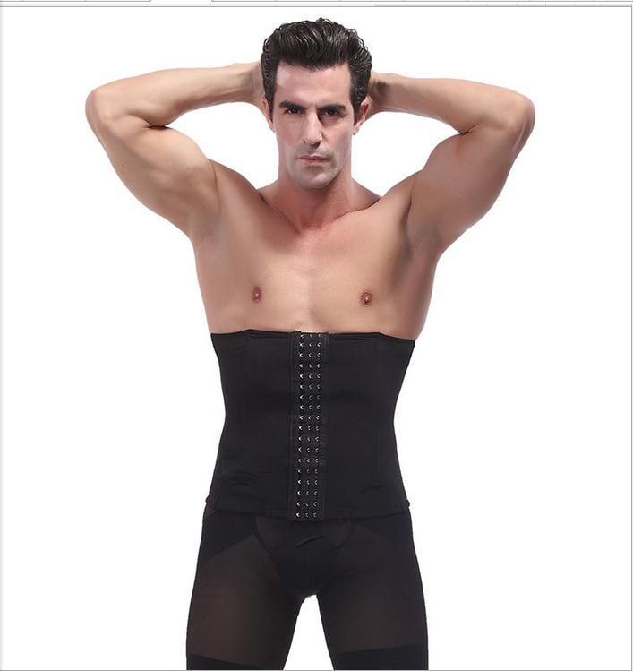 4998290d7c XS S M L XL 2XL 3XL Plus size Black Latex corset men male bodysuit weight  loss waist
