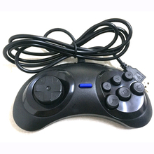 50pcs a lot Classic 6 Buttons USB Gamepad Game Controller Joypad Not for SEGA ( for sega style ) for PC