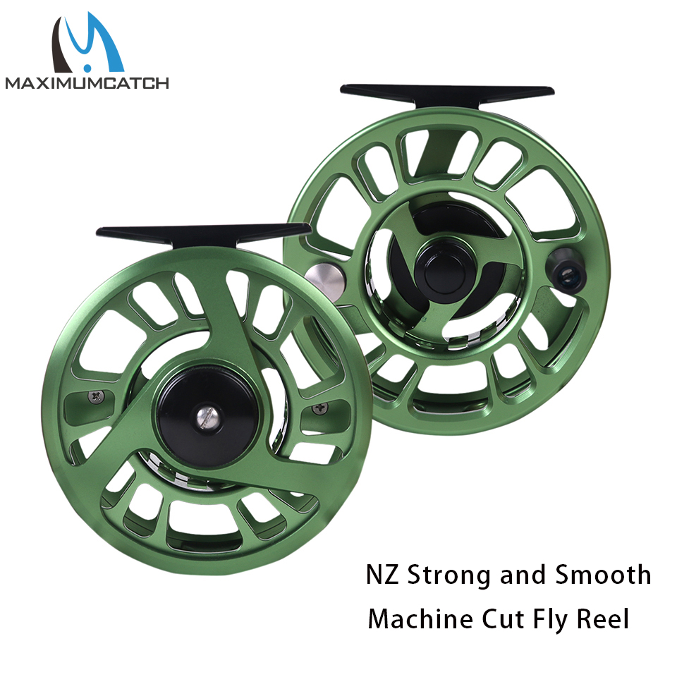 Maximumcatch 3-8WT Fly Fishing Reel Strong and Smooth CNC Machine Cut Large Arbor Aluminum Fly ReelMaximumcatch 3-8WT Fly Fishing Reel Strong and Smooth CNC Machine Cut Large Arbor Aluminum Fly Reel